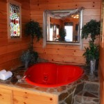 Cabins with indoor pools