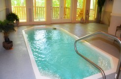 Cabins with indoor pools (2)